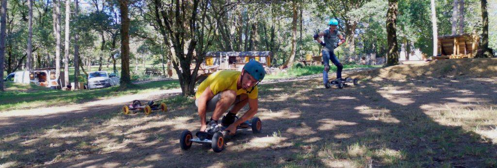 L.A mountainboard Park à Rouans