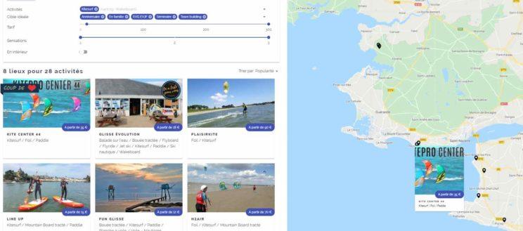 Ecole de kitesurf Loire-Atlantique