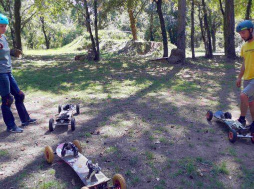 faire du mountainboard saint-nazaire
