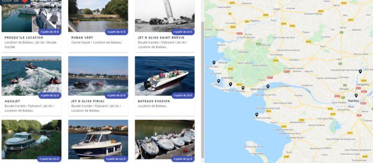 louer un bateau en Loire-atlantique