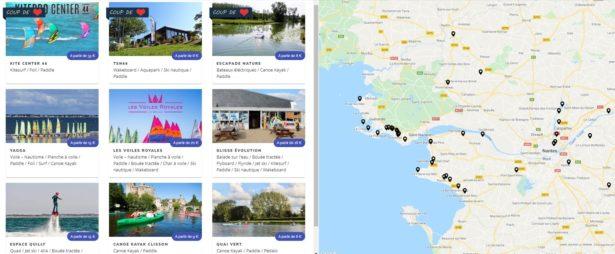 Ou faire du paddle en Loire Atlantique