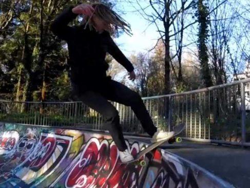 Nantes est une belle place pour le skate