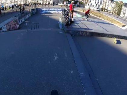 Skatepark du CHU de Nantes