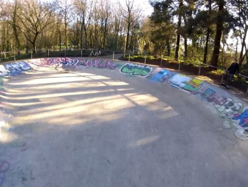 Skatepark bowl de procé